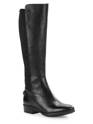 Murrie Leather Riding Boots by Karl Lagerfeld Paris