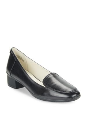 Daneen Leather Loafers by Anne Klein