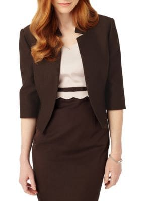 Valentine Open-Front Jacket by Phase Eight