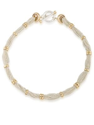 Image of 12K Goldplated Rondelle Necklace