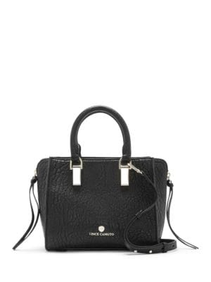 Riley Small Leather Satchel...