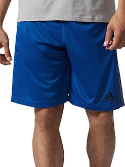 d48d79a23 QUICK VIEW. Adidas. Climalite Striped Jersey Shorts