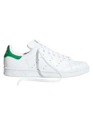 Women's Stan Smith Leather Lace-Up Sneakers by Adidas