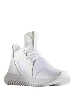 Women's Tubular Defiant Round Toe Slip-On Sneakers by Adidas