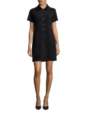 Faux Suede Shirt Dress by Tommy Hilfiger