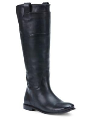 Paige Leather Riding Boots by Frye