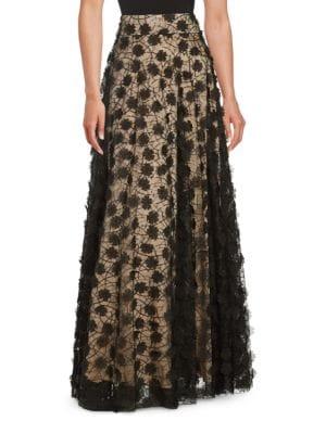 Applique Ballgown Skirt by Eliza J