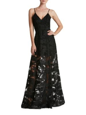 Florence Embellished Lace Gown by Dress The Population