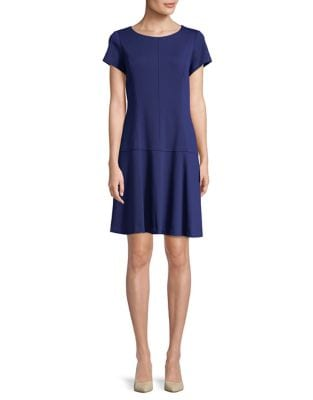 Petite Paneled Shift Dress by Ellen Tracy
