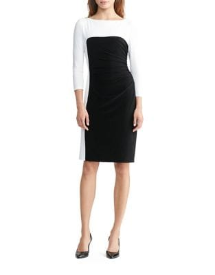 Smooth Matte Jersey Dress by Lauren Ralph Lauren