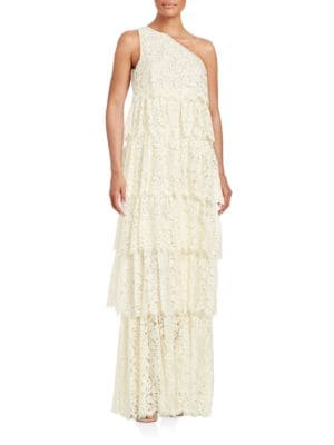 Tiered Lace Gown by Rachel Zoe