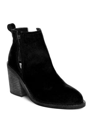 Sharini Suede Booties by Steve Madden