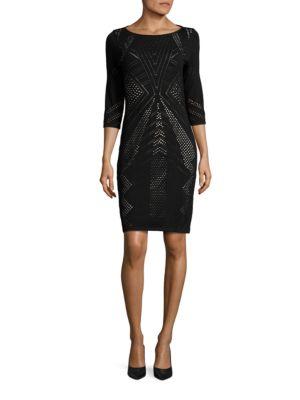 Pointelle Sweater Dress by Calvin Klein