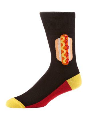 Hotdog Crew Socks @...