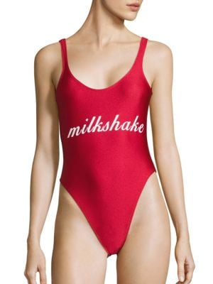 Milkshake One-Piece Swimsuit by Private Party