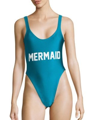 Mermaid One-Piece Swimsuit by Private Party
