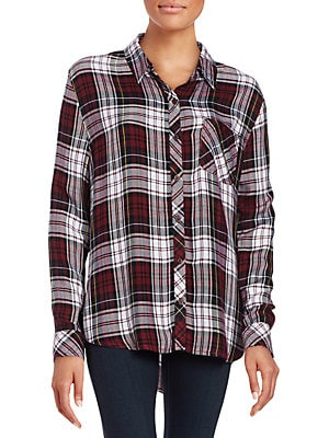 914139f2df Beach Lunch Lounge - Charley Plaid Flannel Shirt - lordandtaylor.com