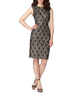 Sleeveless Sequin Dress by Tahari Arthur S. Levine