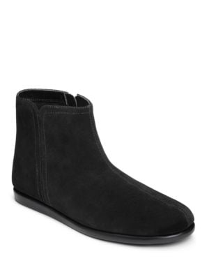 Willingly Suede Side Zip Ankle Boots by Aerosoles