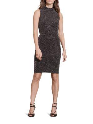 Metallic Herringbone Dress by Lauren Ralph Lauren