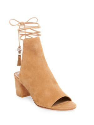 Bali Suede Lace-Up Boots by B Brian Atwood