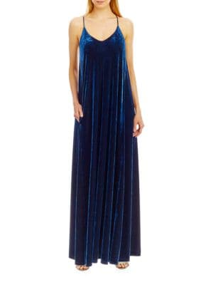 Solid Sleeveless Maxi Dress by Nicole Miller New York