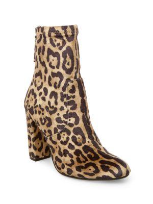 Brisk Velvet Ankle Boots by Steve Madden