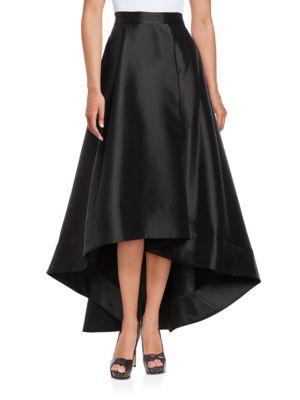 Pleated Hi-Lo Skirt by Eliza J