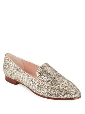 Calliope Glitter Loafers by Kate Spade New York