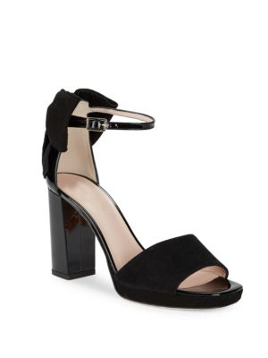 Halle Open-Toe Suede Sandals by Kate Spade New York