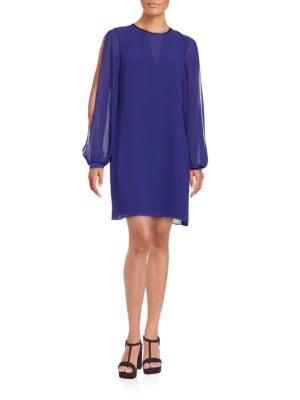 Split Sleeve Shift Dress by Vince Camuto