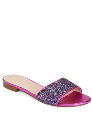 Madeline Open-Toe Slides by Kate Spade New York