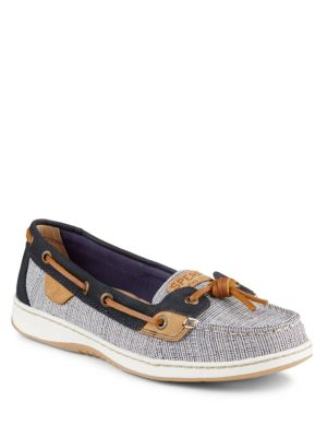 Dune Fish Slip-On Boat Shoes by Sperry