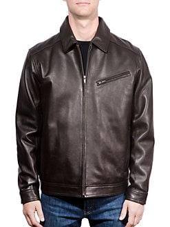cf7404e1660b Leather Jacket BLACK. QUICK VIEW. Product image