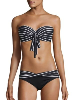Serenity Stripe Five-Way Bra-Sized Bikini Top by Coco Reef