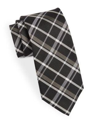 Classic Plaid Tie @...