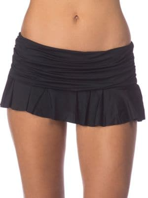 Elastic Waist Ruffled Skirt by Lauren Ralph Lauren