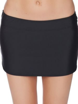 Athena Cabana Solids A-Line Swim Skirt by Athena
