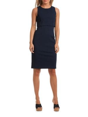 Lani Sleeveless Popover Dress by Trina By Trina Turk