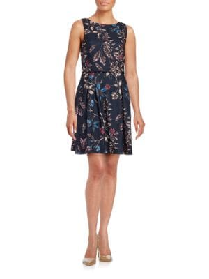 Floral Popover Dress by Ivanka Trump