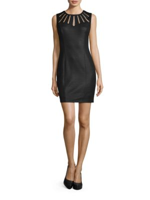 Cutout Matte Sheath Dress by Guess