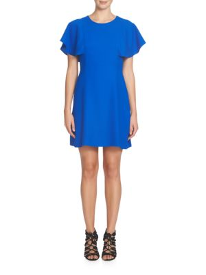 Skylar Flutter Sleeve Dress by Cece