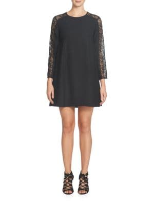 Asha Lace Sleeve Shift Dress by Cece