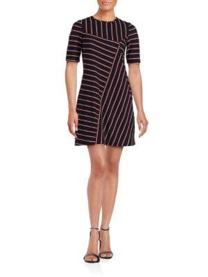 Striped A-Line Dress by Lauren Ralph Lauren