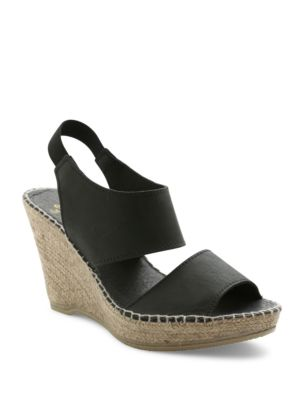 Reese Espadrilles Wedge Sandals by Andre Assous