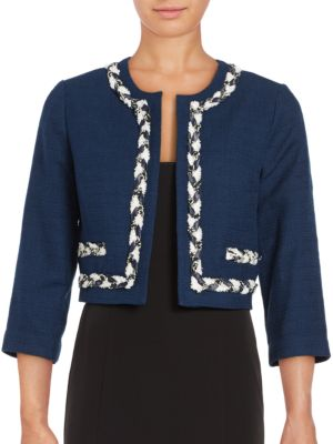 Open TweedJacket by Karl Lagerfeld Paris