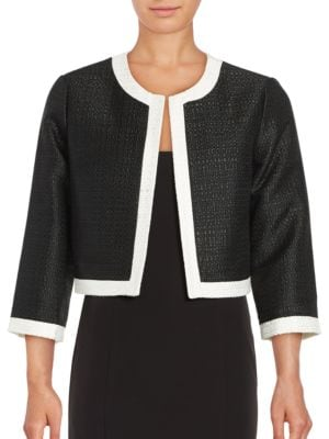 Long Sleeve Woven Jacket by Karl Lagerfeld Paris