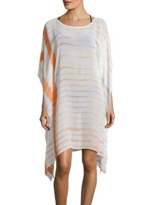 Tie-Dye Cover-Up Caftan by Amita Naithani