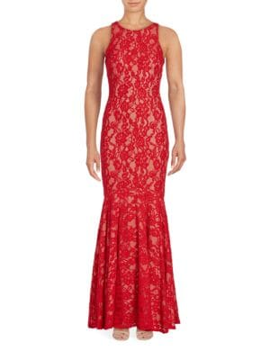 Lace Mermaid Gown by Mandalay