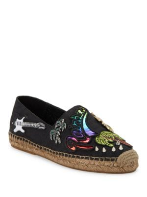 Sienna Tropical Espadrille Flats by Marc Jacobs